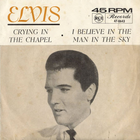 elvis presley crying in the chapel
