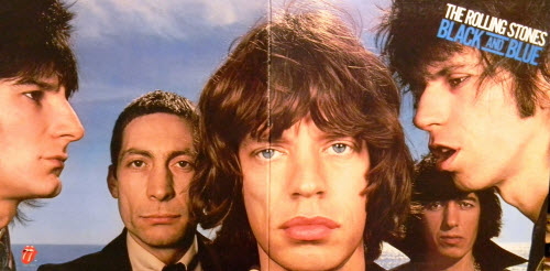 the rolling stones black and blue