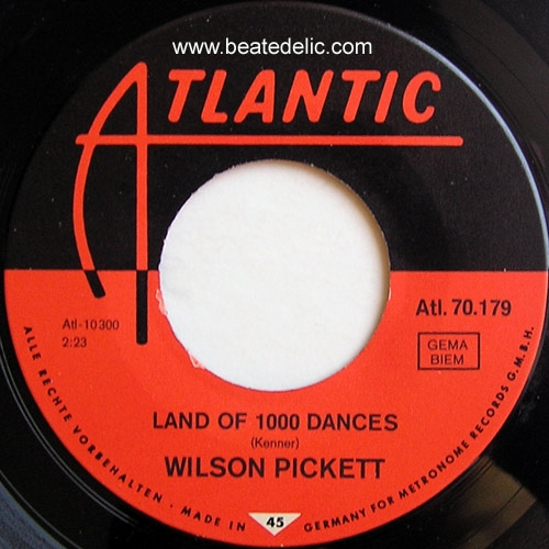 wilson pickett land of 1000 dances