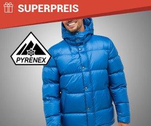 Herren-Winterjacke von Pyrenex zu gewinnen