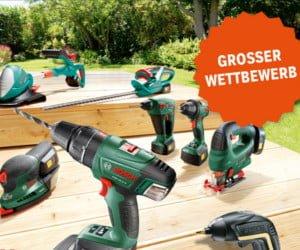 Gutschein für Bosch Geräte gewinnen