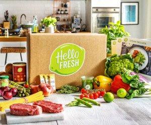 HelloFresh Kochbox für 4 Personen gewinnen