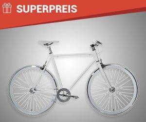 """Singlespeed Bike """"Fixie"""" gewinnen"""