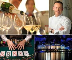 Übernachtung im Grand Hotel National mit Casinobesuch und Dinner für vier gewinnen