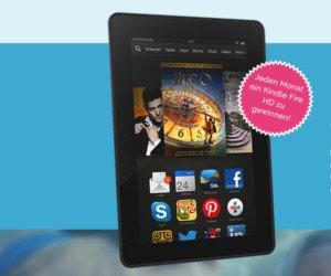E-Book-Reader von Kindle gewinnen