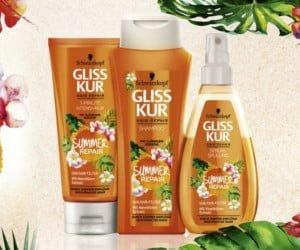 Haarpflege für den Sommer von Gliss Kur gewinnen