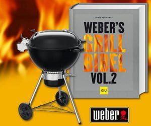 Holzkohlegrill von Weber gewinnen