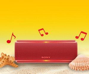 Sony-Lautsprecher gewinnen