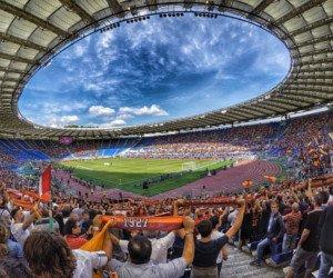 Reise nach Rom mit Besuch des Fussballspiels gewinnen