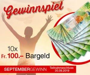Schweizer Franken gewinnen