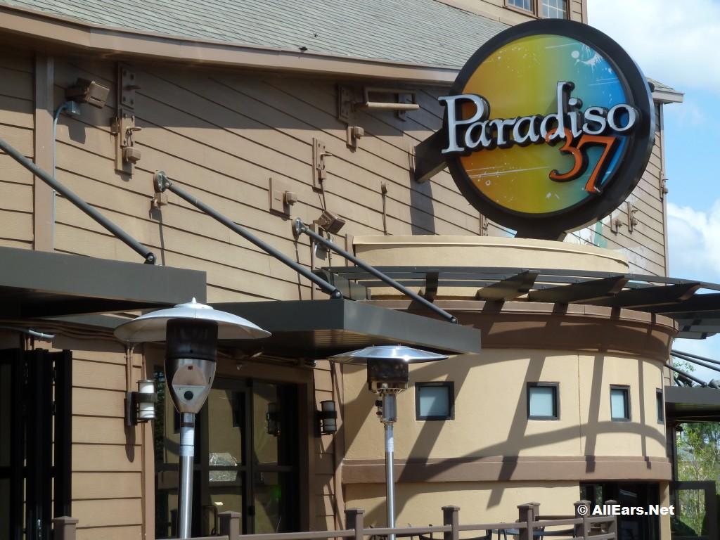 Downtown Disney Restaurants Paradiso 37 Menu