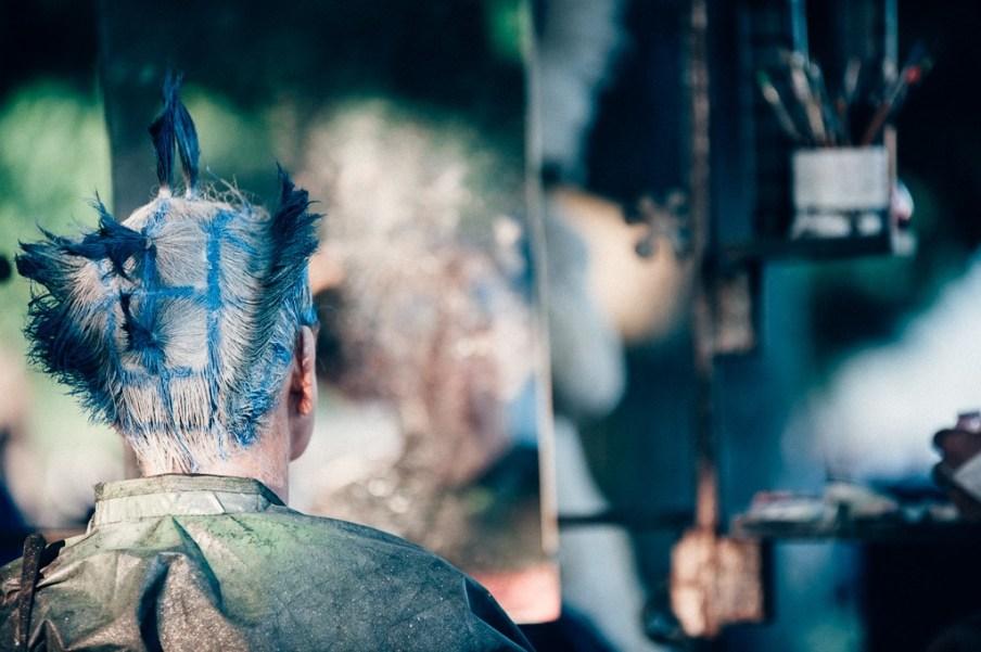Frisurenkunst für Mutige