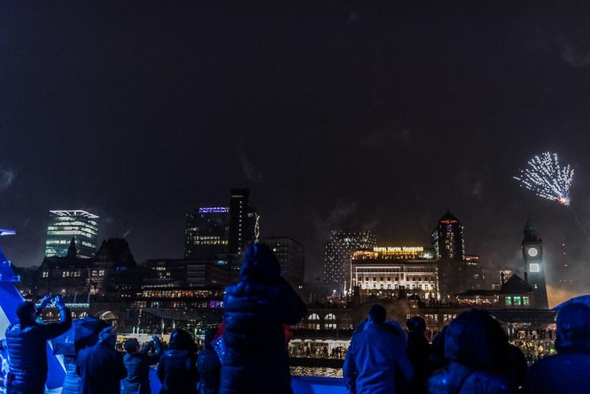 Silvester, Hamburg, Feuerwerk,