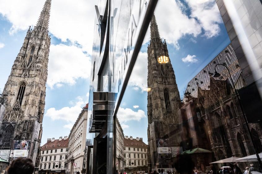Wien, Tanzen, Stephansdom, Sommer, Reisen