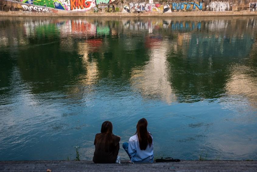 Wien, Donau, Reisen, Urlaub, Sinne schärfen