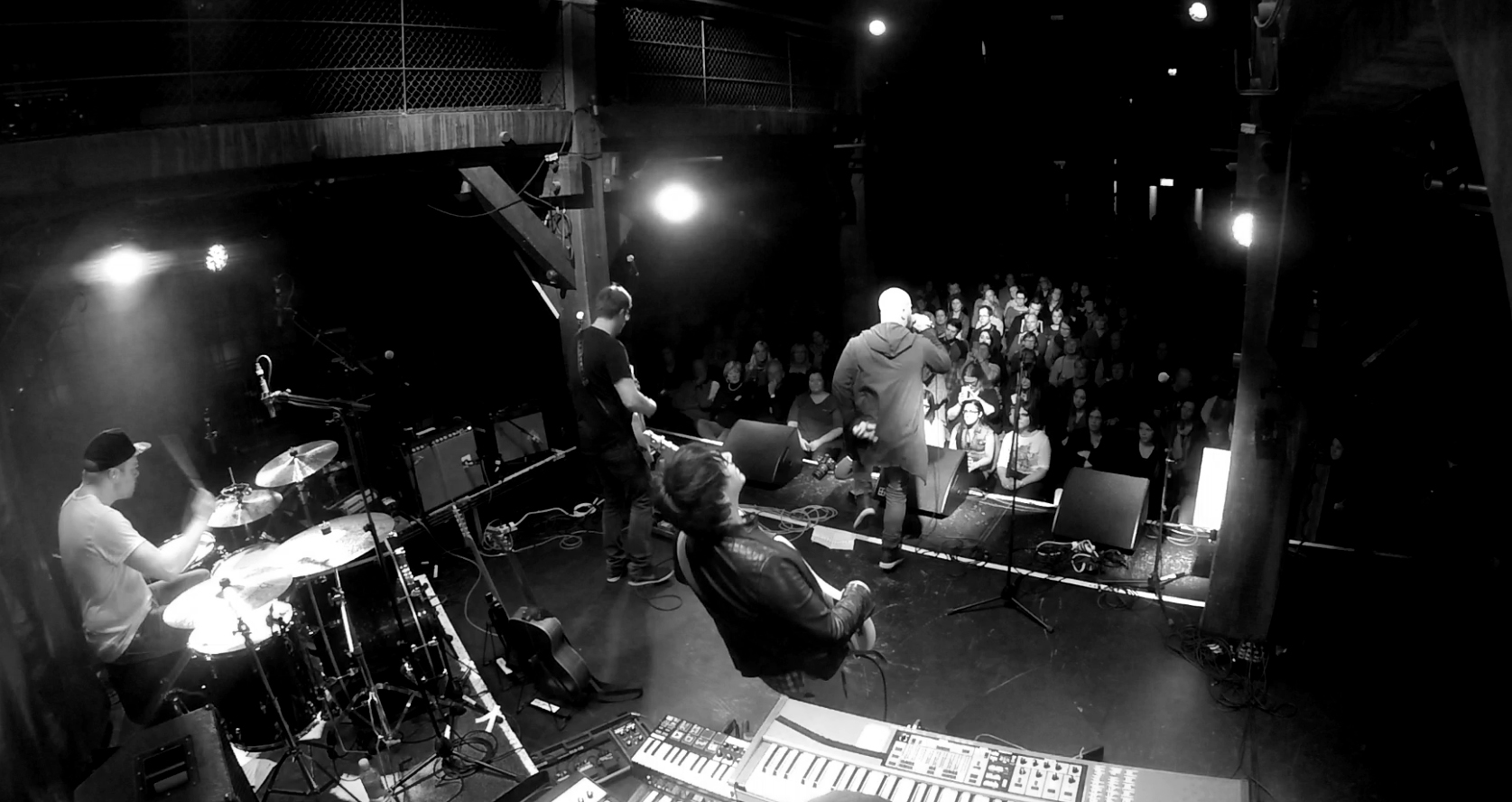 am Bass für Sebó in der Fabrik, Hamburg für den NDR