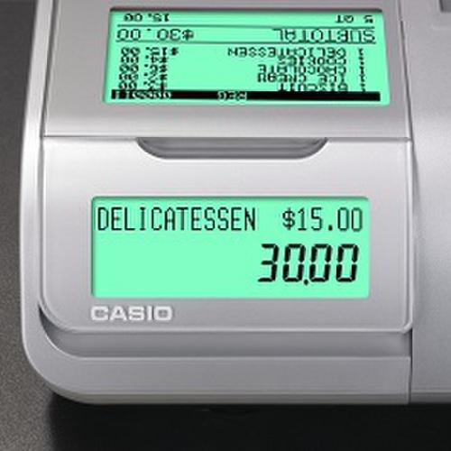 Kassaaparaat Casio SE-S400 (suur sahtel) -165