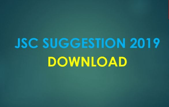 Download JSC Suggestion 2019