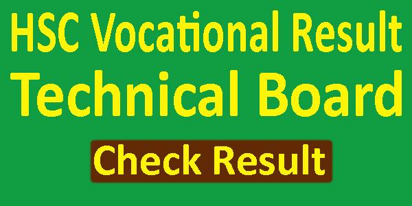HSC Vocational Result 2019