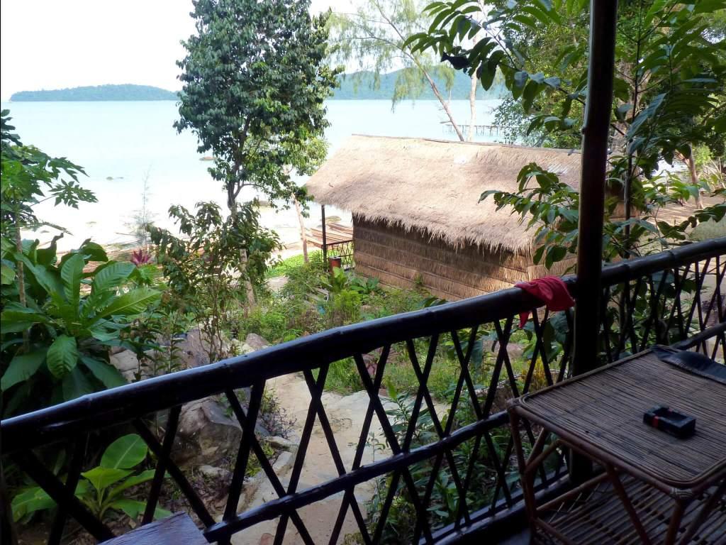 Het eiland Koh Rong Samloem in Cambodja