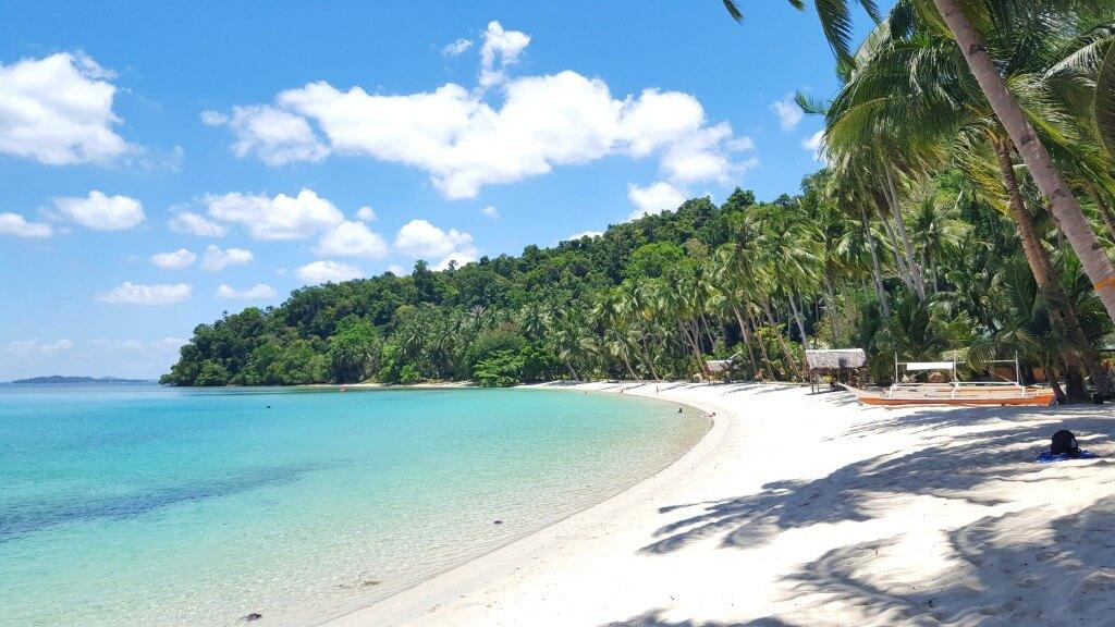 Backpacken Filipijnen white beach