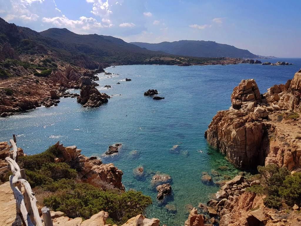 Sardinie strand li cosi