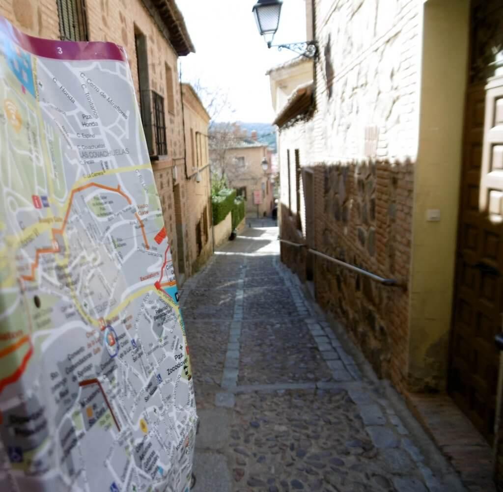 Toledo centrum