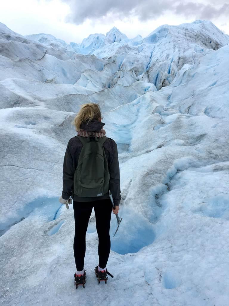 De beroemde Perito Moreno-gletsjer in het zuiden van Argentinië