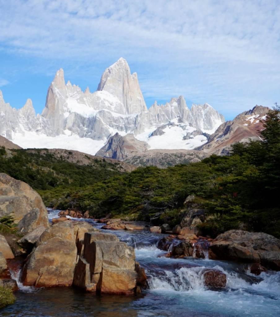 Hiken in Patagonië in het zuiden van Argentinië
