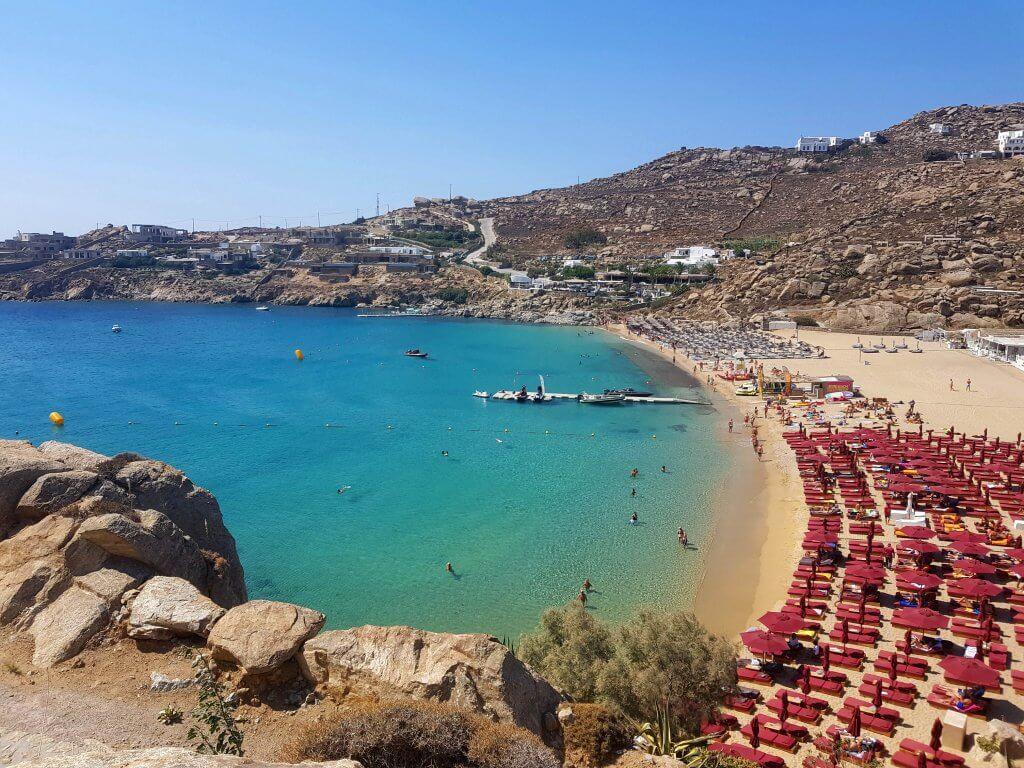 Het eiland Mykonos is een must-see als je gaat eilandhoppen in de Cycladen