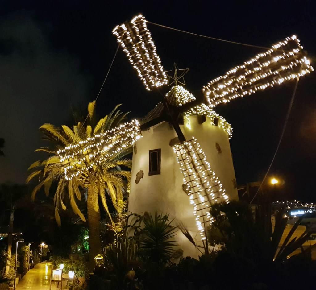 Uiteten bij El Molino Blanco in Costa Adeje