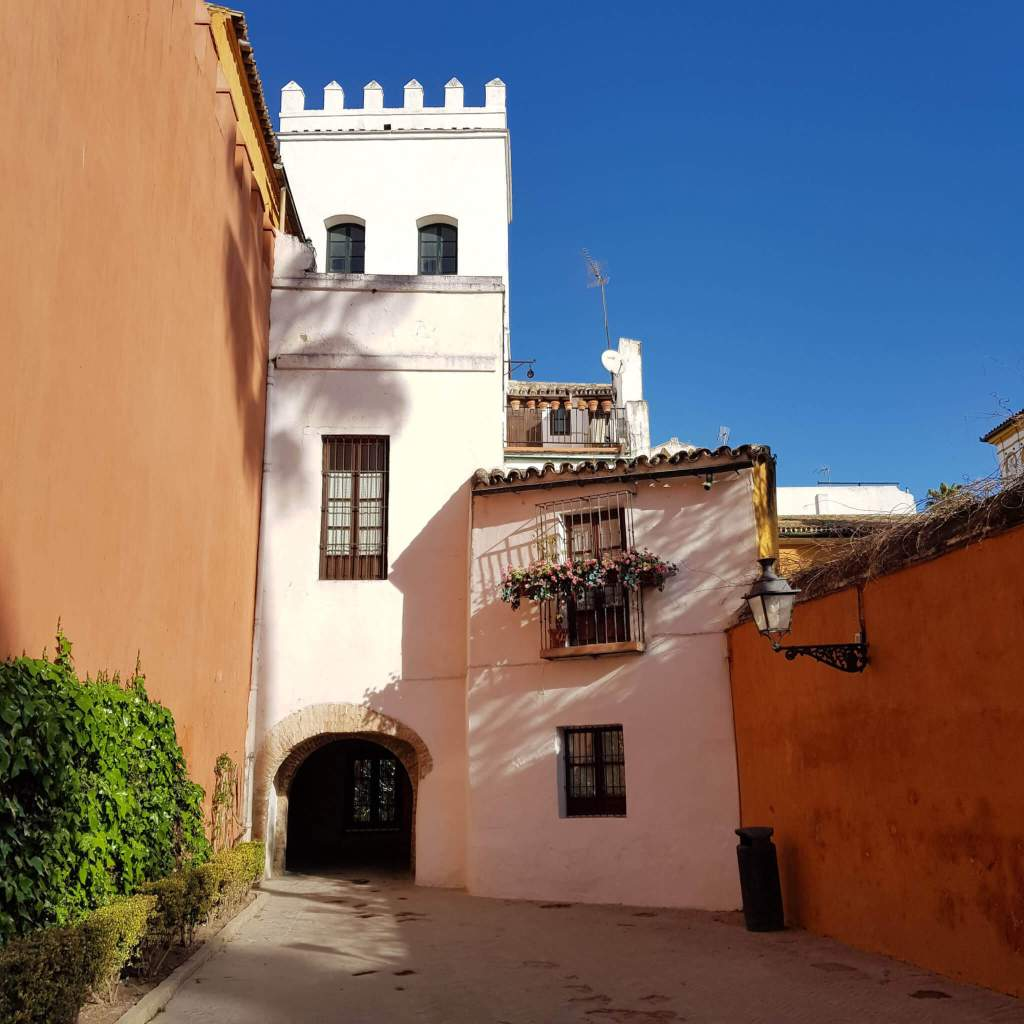 De wijk Santa Cruz in Sevilla