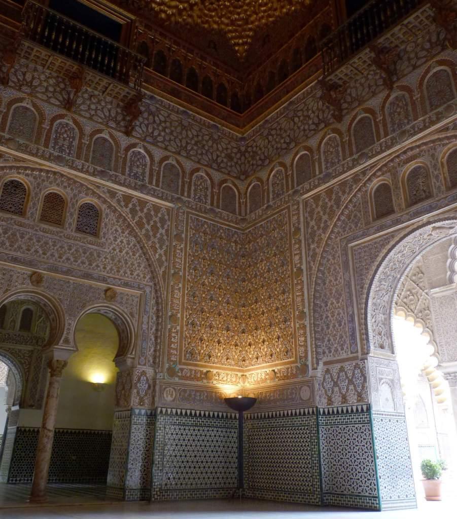 Het paleis Real Alcazar in Sevilla