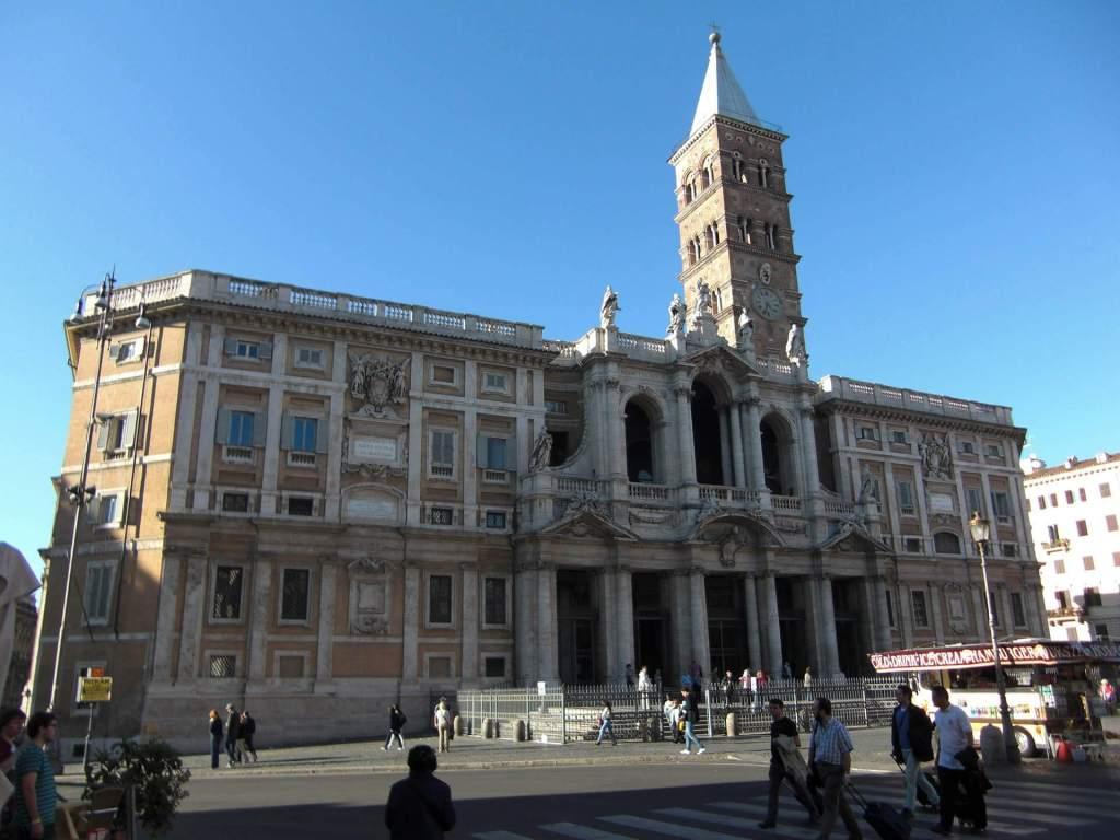 De Santa Maria Maggiore in de wijk Termini in Rome