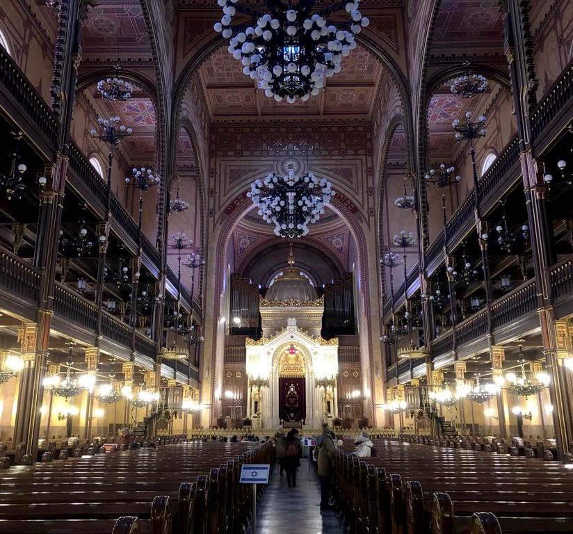 De Joodse synagoge in Boedapest