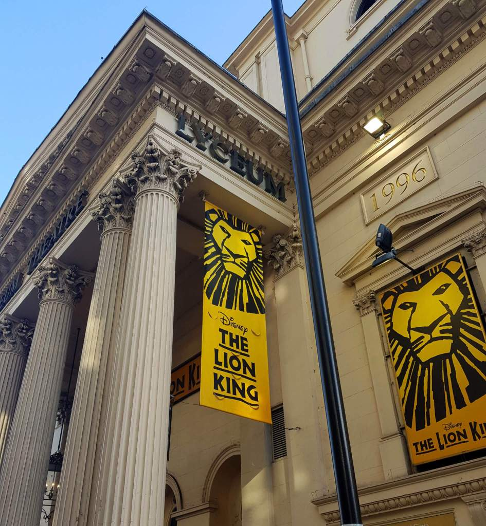 Lion King musical in Londen
