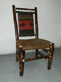 HICKORY UPHOLSTER CHAIR