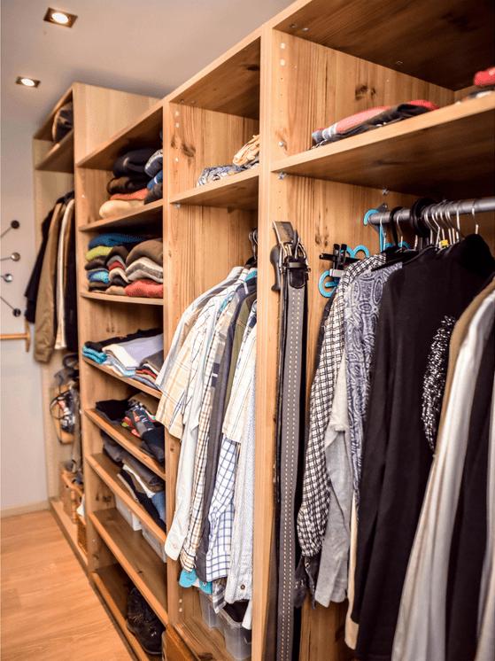 home organizing tri rangement vêtements