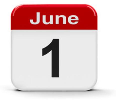 June 1st
