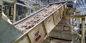 Recycle Belt Conveyor used for High-Angle Conveying
