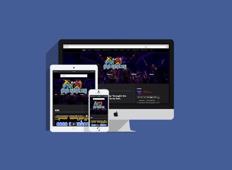 Go Go Symphony Website