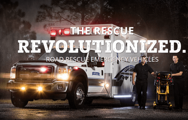 Road Rescue's emergency vehicles designed to protect patients and EMS providers