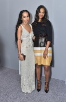 LOS ANGELES, CA - OCTOBER 19: Actors Zoe Kravitz (L) and Zoe Saldana attend the 22nd Annual ELLE Women in Hollywood Awards at Four Seasons Hotel Los Angeles at Beverly Hills on October 19, 2015 in Los Angeles, California. (Photo by Stefanie Keenan/Getty Images for ELLE)