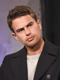 """NEW YORK, NY - MARCH 14: Actor Theo James attends a discussion of the film """" Allegiant"""" during AOL BUILD Speaker series at AOL Studios In New York on March 14, 2016 in New York City. (Photo by Gary Gershoff/WireImage)"""