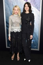"NEW YORK, NEW YORK - MARCH 14: Actresses Naomi Watts (L) and Shailene Woodley attend the New York premiere of ""Allegiant"" at the AMC Lincoln Square Theater on March 14, 2016 in New York City. (Photo by Jamie McCarthy/Getty Images)"