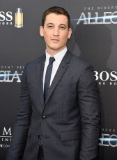 "NEW YORK, NY - MARCH 14: Miles Teller attends ""Allegiant"" New York premiere at AMC Loews Lincoln Square 13 theater on March 14, 2016 in New York City. (Photo by Kevin Mazur/WireImage)"