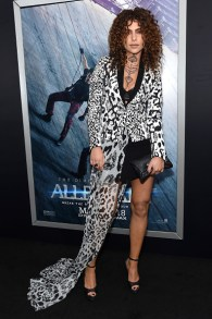 "NEW YORK, NEW YORK - MARCH 14: Nadia Hilker attends the New York premiere of ""Allegiant"" at the AMC Lincoln Square Theater on March 14, 2016 in New York City. (Photo by Jamie McCarthy/Getty Images)"