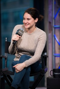 NEW YORK, NY - MARCH 14: Shailene Woodley attends AOL Build Speaker Series at AOL Studios in New York on March 14, 2016 in New York City. (Photo by Jenny Anderson/FilmMagic)