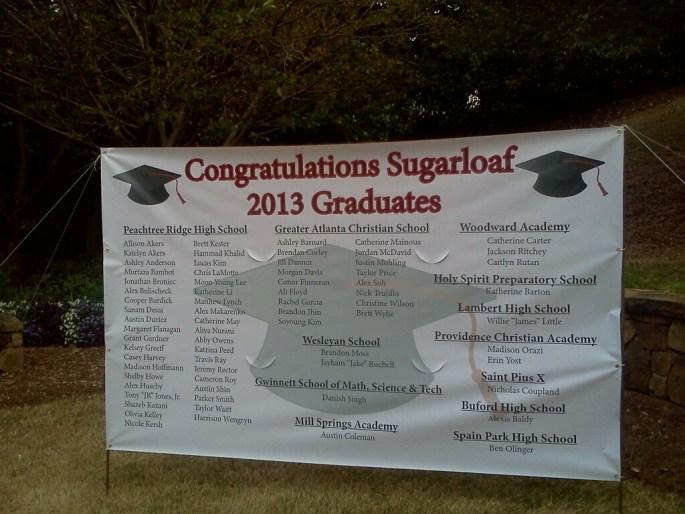 Graduation Banner Printing Atlanta