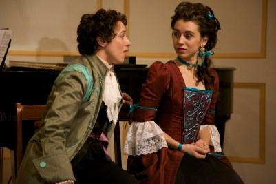 Hayden DeWitt and Allegra Durante in Replenished Repertoire, August 2012, costumes by Allegra Durante (second version of red dress)